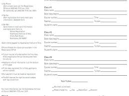 Fresh Race Registration Form Template 5k Run Fun Collections