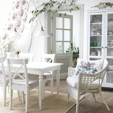 ikea round dining table set new ingatorp ingolf table and 4 chairs white