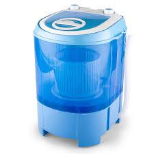 Miniature Washing Machine Powerful Mini Spin Washing Machine By Oneconcept Toploading Wash