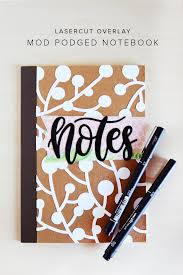 Diy Journal Cover Design Ideas How To Decorate Your Notebook Cover Mod Podge Rocks