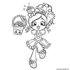 Shoppie Girls Coloring Pages