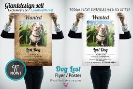 Lost Pet Flyer Maker Dog Lost Flyer Poster Flyer template Flyer design templates and 19
