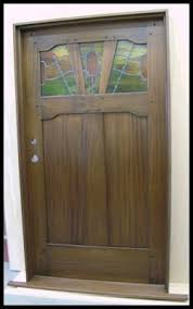 mission style front doorHeart of Oak Workshop Authentic Craftsman  Mission style Doors