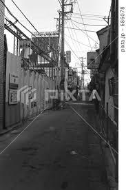 穏田中通り商店街の写真素材 Pixta