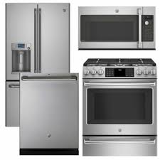 ge cafe range. Package CAFE1 - Ge Cafe Appliance 4 Piece With Gas Range Includes Free Microwave Stainless Steel