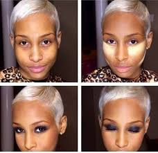 incredible contour and highlight tutorial for dark skin 1000 images about black s wear makeup too 00f7ca9c653311e393230e5baf432ae7