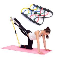 amazon ktino 4pcs useful fitness equipment workout exercise elastic resistance band for yoga sports outdoors