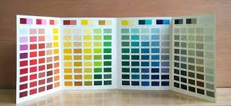 Color Chart Paint Color Chart Manufacturer From Udaipur