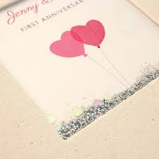 Personalised First Wedding Anniversary Photo Album By Made By Ellis