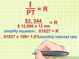 How To Calculate Interest Rate 10 Steps With Pictures