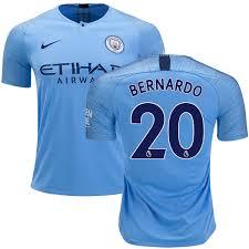 Bernardo Silva Manchester City Fc Youth Jersey 20 Field