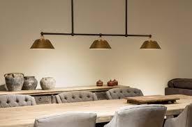 Nostalgic Beam Lamp For Tables With Three Shades Casa Lumi