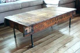 reclaimed wood coffee table round distressed wood coffee table distressed wood side table large size of