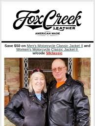 fox creek leather save 50 on select jackets and vests now free milled
