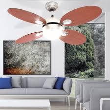 Decken Ventilator Schlafzimmer Leuchte Kühler Im Set Inklusive Fernbedienung Und Led Leuchtmittel