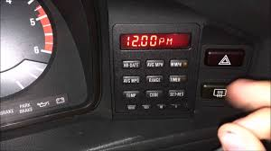 All BMW Models 1987 bmw 528i : 1987 BMW 528e Setting the time + date on the OBC: P7 - YouTube