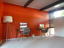 paint for office walls. orange-office-wall paint for office walls i