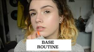 base routine for dry skin makeup forever stick foundation first impressions katie hollis beauty beauty