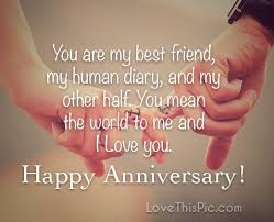 Love Anniversary Quotes Fascinating I Love You Happy Anniversary Pictures Photos And Images For
