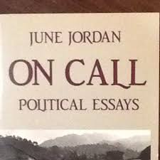 On Call Political Essays June Jordan