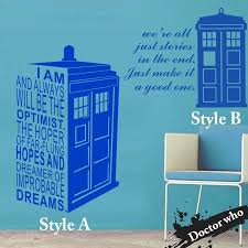 tardis decals art design home decoration who vinyl popular doctor wall sticker decor famous police tardis decals zoom dr who wall decal