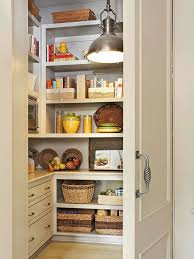 impressive small kitchen pantry ideas with ceiling pendant lamp