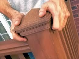 installing a deck railing