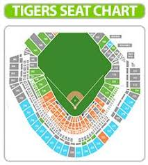 Detroit Tigers Seating Chart With Rows 37 Actual Comerica Park Seating