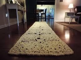 long runner rugs for hallway ft rectangle doily rug lace carpet floor mat crochet shabby chic