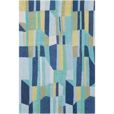 luka dark blue 5 ft x 8 ft area rug