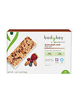 boy by nutrilite mixed berry crisp meal bar