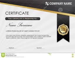 certificate diploma award template black gray stock  certificate diploma award template black gray