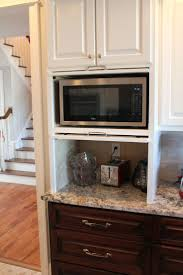 Kitchen Microwave Cabinet 25 Best Ideas About Farmhouse Toaster Ovens On Pinterest