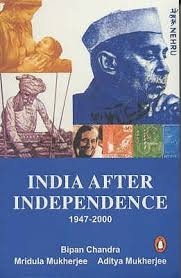 after independence by bipan chandra  after independence