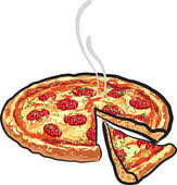 cheese pizza clipart. Unique Pizza Pizza Pizza With Salami For Cheese Pizza Clipart