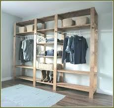 floating closet build wood shelf incredible ideas how to build wood closet shelves shelving home design