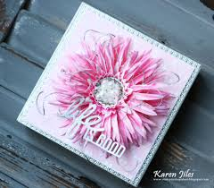 flower and cut from the lane pocket s collection the life is good wall art décor measures 6 x6 i m adding a tutorial below