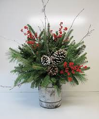 Christmas Arrangements Assorted Greenery Arrangements
