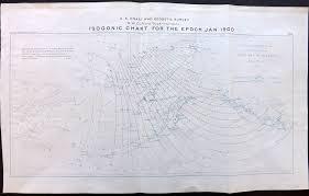 U S Coast Survey 1896 Map Base Map Of Alaska Isogonic
