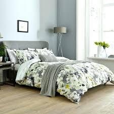 yellow king duvet cover seafaring bedding set cotton single double size grey and chevron