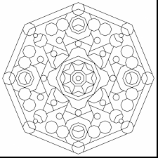 fantastic geometric mandala coloring pages with free geometric ...