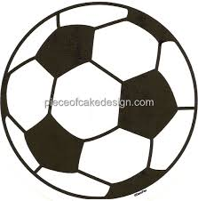 Soccer Ball Icing Decorations 100100 Sheet Soccer Ball Birthday Edible CakeCupcake Topper 35