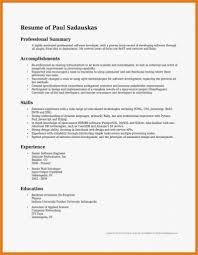 Summary For Resume Examples Of Accomplishments Post Office Job