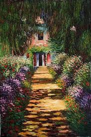 claude monet garden. Exellent Garden Pictures Of Monets House And Gardens  Claude Monet Garden Path At Giverny  Iv Painting U0026  Inside Claude Monet Garden 0