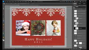 free christmas cards to make how to make free holiday christmas card edits in photoshop and with