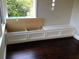 storage bench seating
