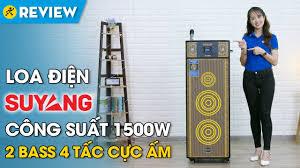 Loa điện karaoke SuYang: mạnh mẽ, công suất đến 1500W (X-168) • Điện máy  XANH - YouTube