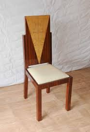 art art deco dining chairs