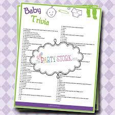 baby trivia shower games | rosa board | Pinterest | Baby trivia