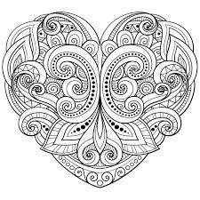 free heart coloring pages save mandala coloring pages hearts new